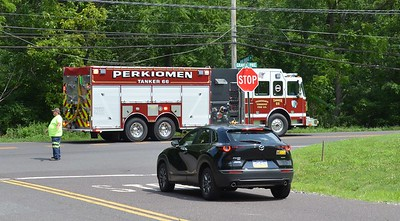 7.12.2021 Vehicle accident with utility pole Gravel Pike