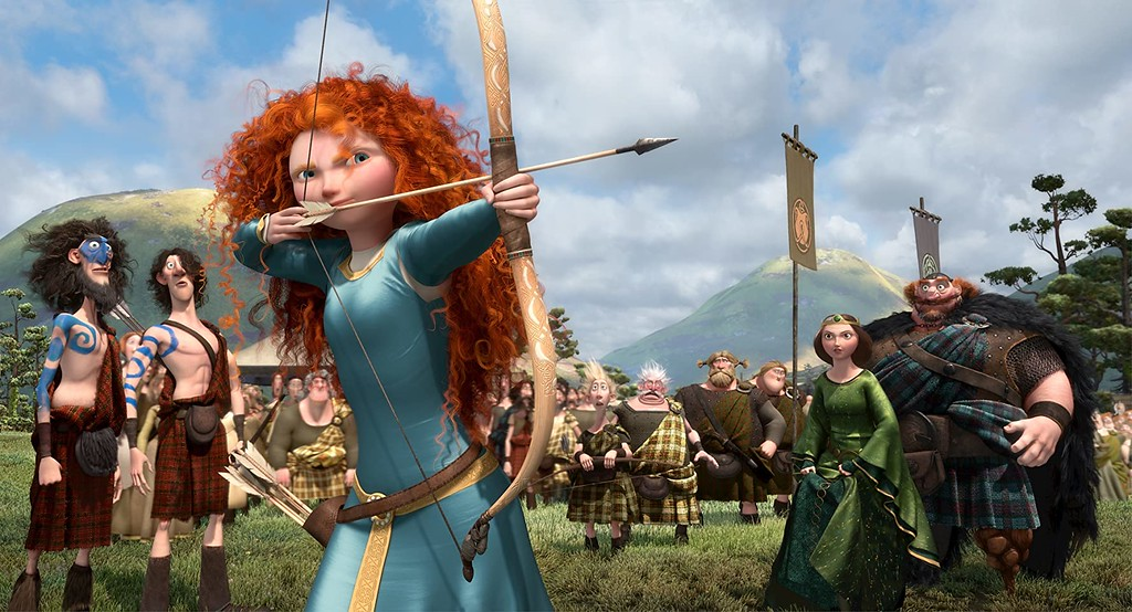Brave (2012) - Movies about Scotland