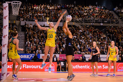 Silver Ferns Vs Diamonds