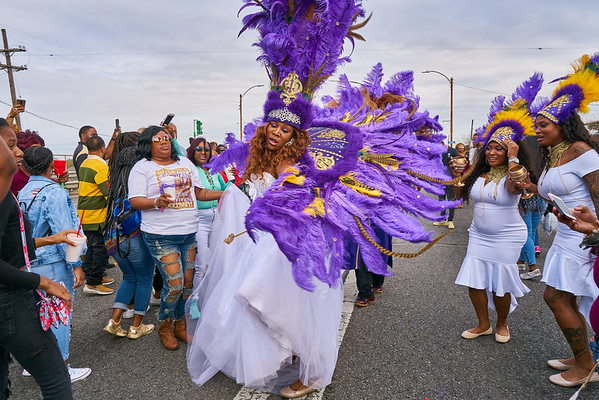 Big Nine Second Line - NOLA - 2017