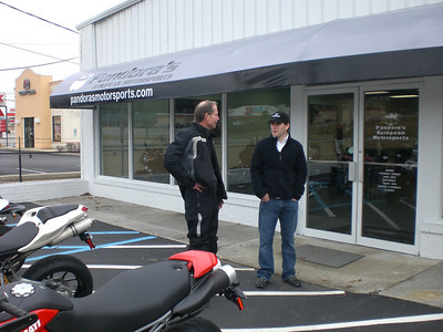 Pandora's Motorsports Capture the Flag Riding Event Lunch