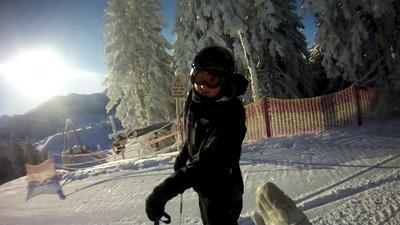 Alpint skikursus i Østrig