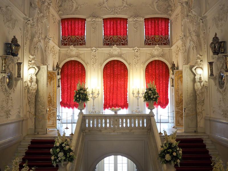 Inside Catherine Palace in Pushkin