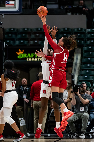 Wisconsin vs Rutgers at Bankers Life Fieldhouse in Indianapolis, Indiana on March 4, 2020. Final score Rutgers 63 - Wisconsin 55. Photo by Tony Vasquez for Indy Sports Daily.