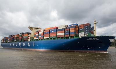 2014 08 18 Hyundai Cosco Ankunft im Hamburger Hafen