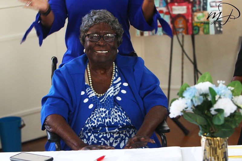 Mrs. Berry 100th Birthday Party
