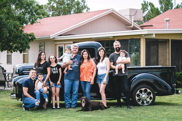Pichirila y Familia Julio 2020