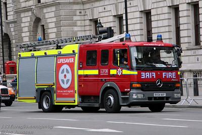 London Fire and Ambulance