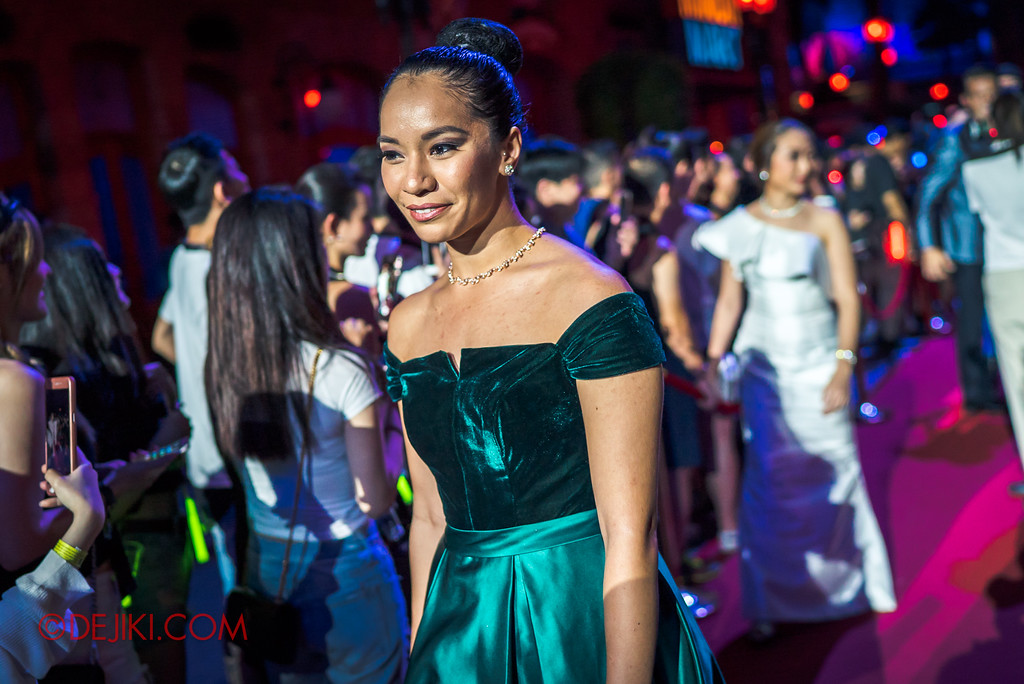 Halloween Horror Nights 7 Opening Scaremony GALA PREMIERE of the 7 SINisters / Christina Goh