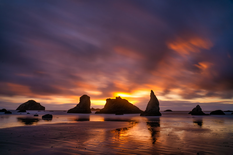 Bandon Beach Sunset