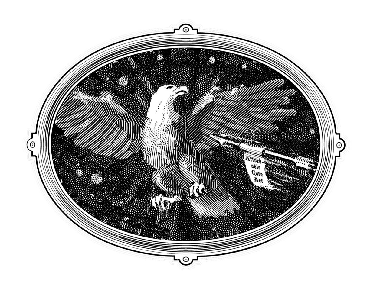 Illustration for the Summer 2013 issue of the Claremont Review of Books