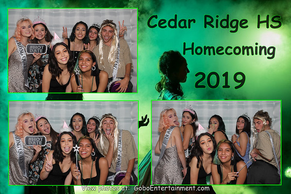 20190928 Cedar Ridge HS Homecoming
