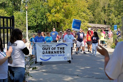 Out of the Darkness Walk 2018