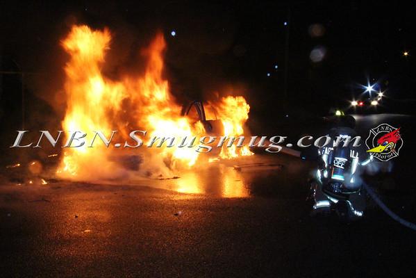 East Farmingdale Fire Co. Vehicle Fire Lincoln Ave & Van Buren St. 4-10-15