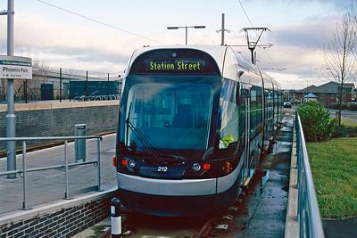 Nottingham Express Tram