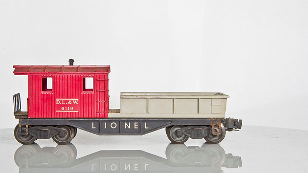 6119-100 Gray&Red DL&W Work Caboose