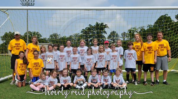 Grace Academy Soccer Camp