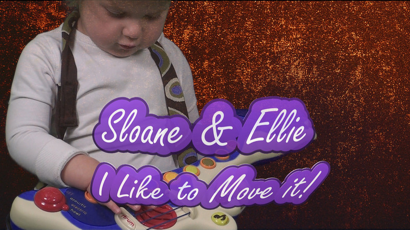 "Sloane and Ellie Jamming to ""I Like to Move it!"""
