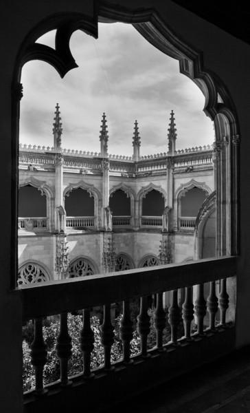 Upper balcony of San Juan de los Reyes Monastery, Toledo