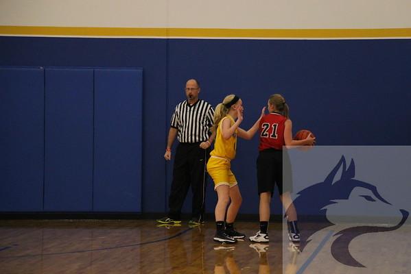 12/18 JH Girls Basketball vs. Creighton