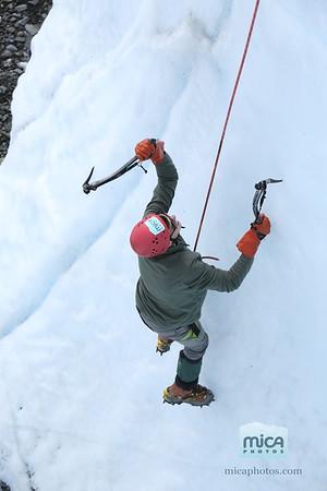 Sarah - Ice Climb