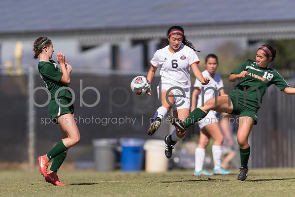 Oxy Women's Soccer vs La Verne 10-8-16