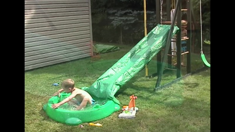 Backyard Water Slide.mp4