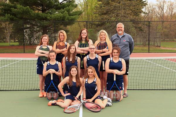 2017 Bridgman Girls Tennis