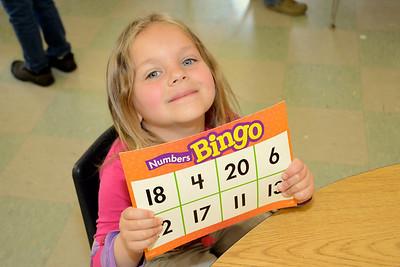 B-I-N-G-O Math photos by Gary Baker