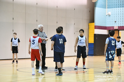 2/22/2020 7th Grade Montgomery County Recreation Basketball, Up County Rec Basketball Team Sesame Street vs Hoop Squad at Kingsview Middle School, Photos by Jeffrey Vogt Photography