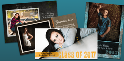 2019/04/10 Grad Announcement Cards and Party Invites