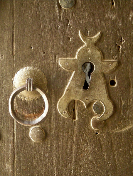 door hardware in the Imam's palace