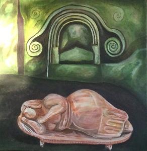 She Who Dreams by Kim Kitchen
