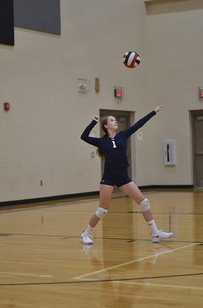 8th grade volleyball vs Elkhorn Grandview