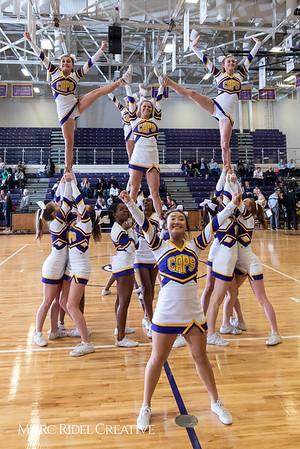Broughton boys varsity basketball vs. Leesville. January 8, 2019. 750_1740