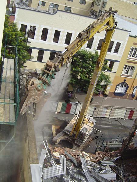 Festival Hall Demolition