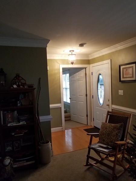 new hallway light