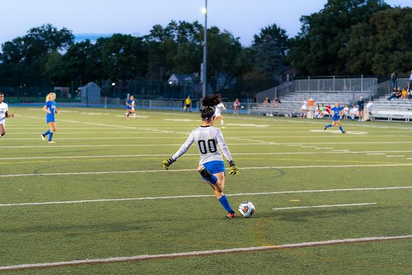 Varsity Girls Soccer vs Wellington
