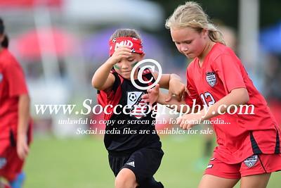06 Girls SWARM vs Paragould FC Predators