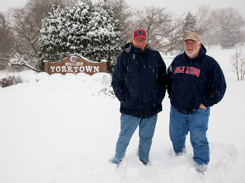 T. Hall and M. Bellamy in front of  Yorktown Sign.jpg