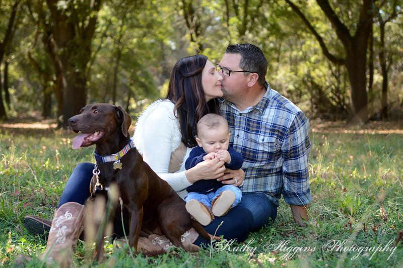 Kimberly, Mark & Wyatt 2017