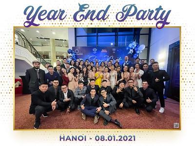 Al Naboodah Hanoi | Year End Party 2020 instant print photo booth @ Hilton Hanoi Opera | Chụp hình in ảnh lấy li�n Tiệc Tất niên 2020 | WefieBox Photobooth Hanoi