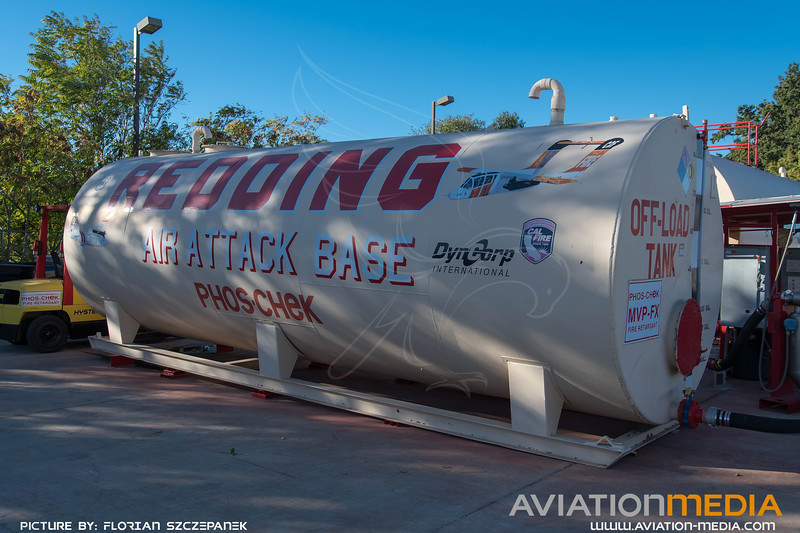 CAL Fire Redding Air Attack Base - Installations