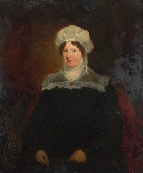 Portrait of a Woman aged about 45