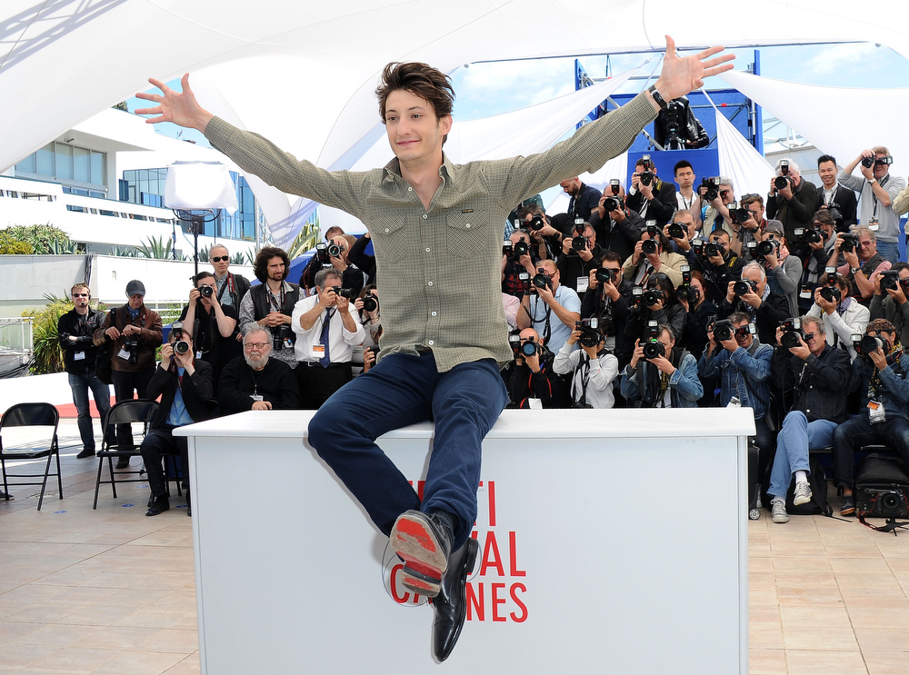 . Actor Pierre Niney attends the photocall for \'Jeunes Talents Adami\' during The 66th Annual Cannes Film Festival at Palais des Festivals on May 20, 2013 in Cannes, France.  (Photo by Pascal Le Segretain/Getty Images)