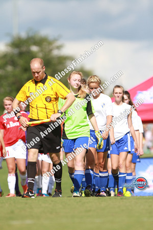 Girls 13U - Bay United Sharks vs Wastach