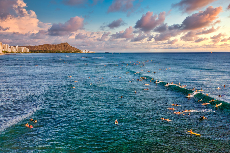 Surfing at Bowls