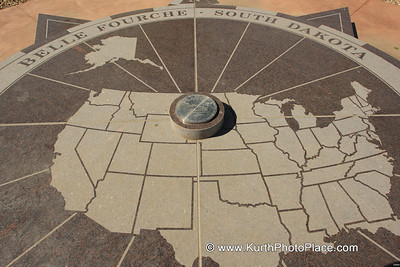 Center of the United States