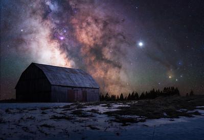 Night Sky - Landscape Wall Art Prints - WD Photography