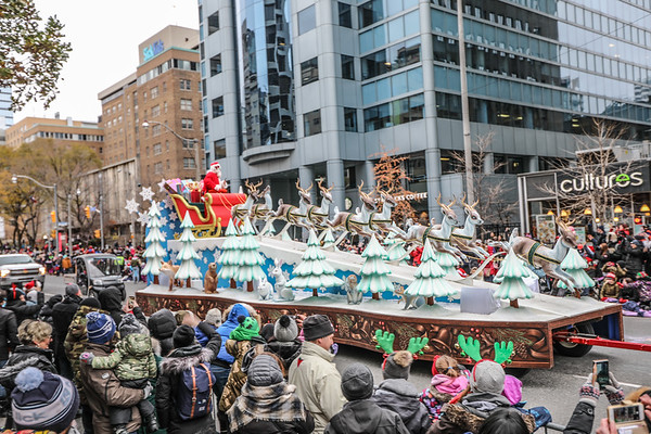 Santa Claus Parade 2018